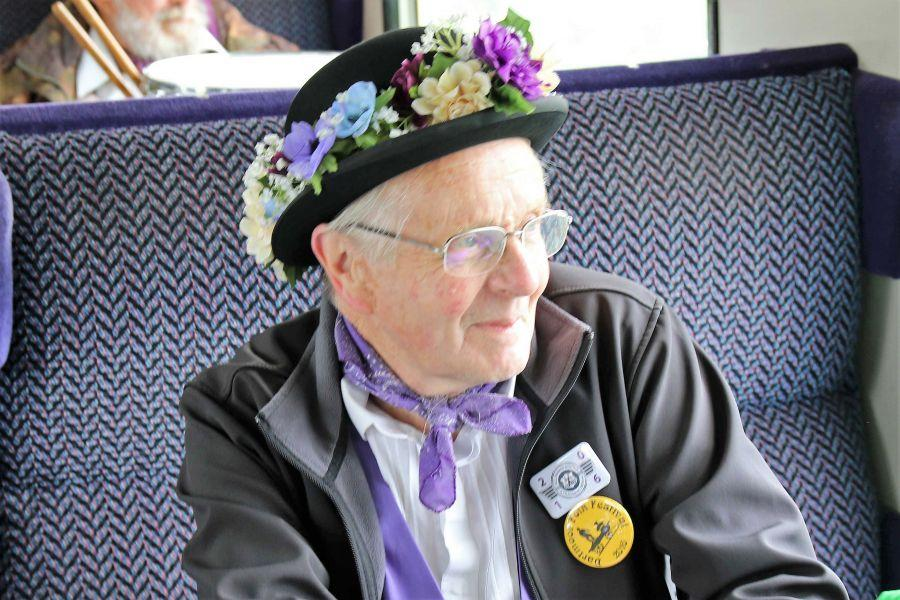 Raddon-Hill-Somerset-our-squire-on-the-train-DL